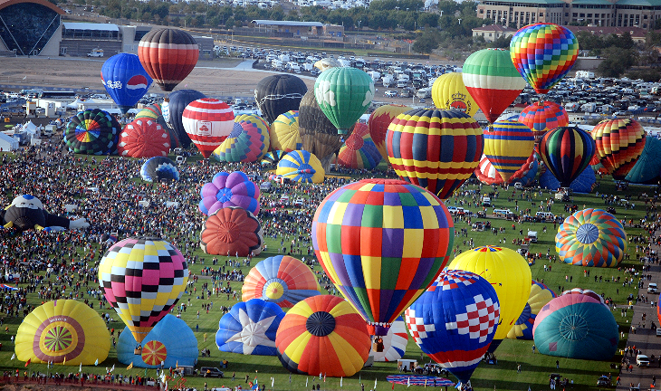 Balloon Fiesta, 2010