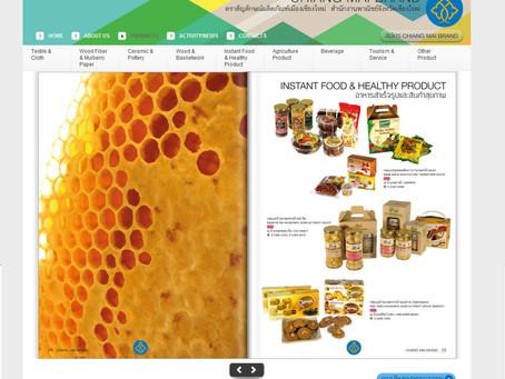 #Chiang Mai Brand UI Website2011