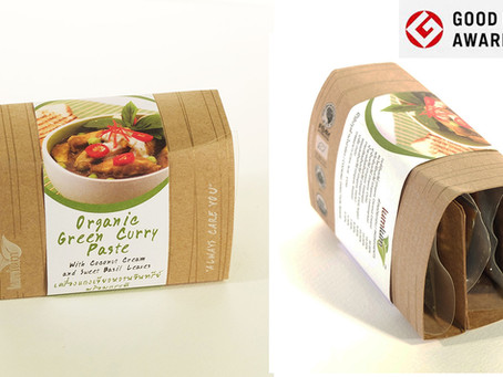 #G-Mark Award : Organic Green Curry Paste Packaging Design