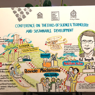 Conference on the ethics of science & technology & sustainable development