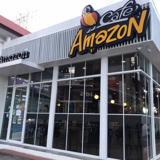 Cafe Amazon  meechok อเมซอน มีโชค ตุลย์