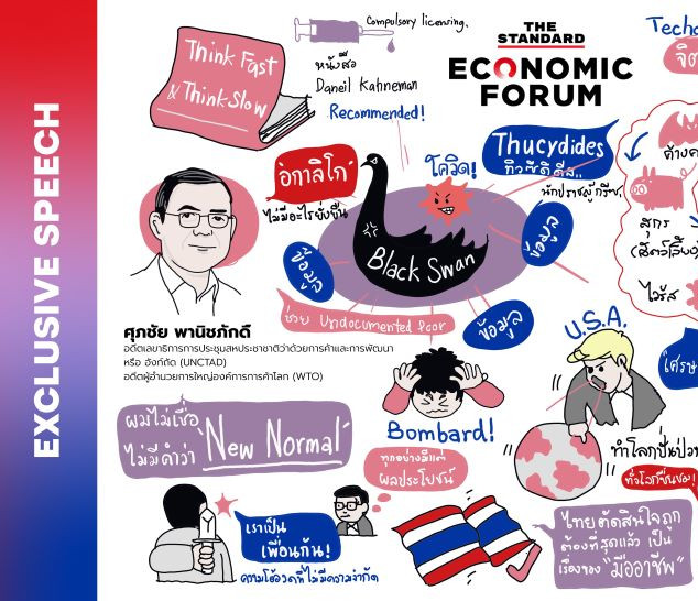 The Standard Economic Forum 3 ศุภชัย พาณิชย์ภักดิ์Pictures Talk