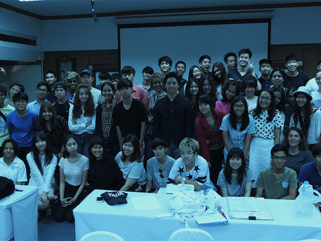#Lecture for Urban Design and Development (International Program) Student, Thammasat University.