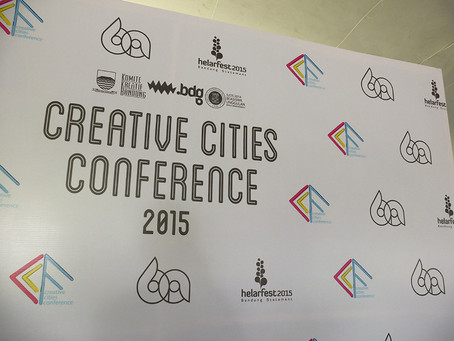 #Creative Cities Conference 2015 Bandung