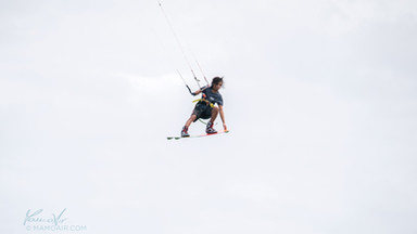 Christian Tio, Red Bull athlete, Kitesurfing in Bulabog beach, Boracay island, Philippines