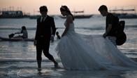 Wedding on White Beach, Boracay Island, Philippines
