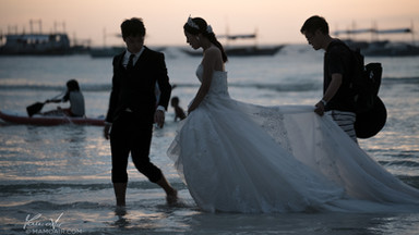 Wedding on White Beach, Boracay Island, Philippines