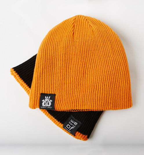 2baae7065df Unisize reversible beanie hat belonging to the Establishment Collection.