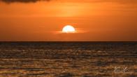 Sunset in White Beach, Boracay, Philippines