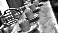 Coffee time in Sicily, Italy