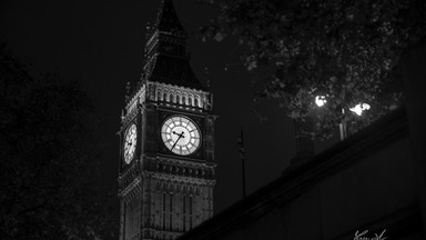 The Big Ben by night, London, UK