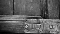 Door in Ispica, Sicily, Italy