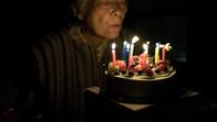 Obaachan's birthday in Osaka, Japan