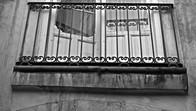 Balcony in Modica, Sicily, Italy