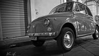 FIAT 500 in Noto, Sicily, Italy