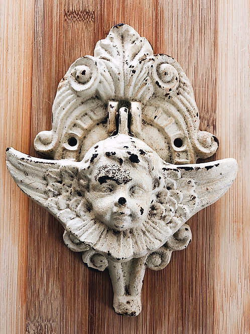 Cast Iron Angel Door Knocker