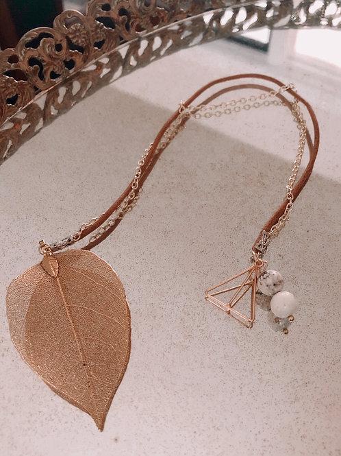 Jo's Golden Leaf Bookmark
