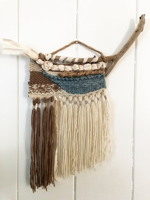 Driftwood Hand Woven Tapestry