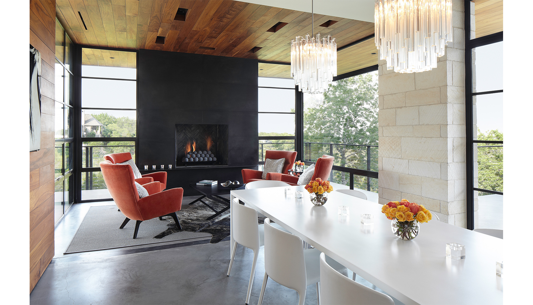Hill Country Living Dining