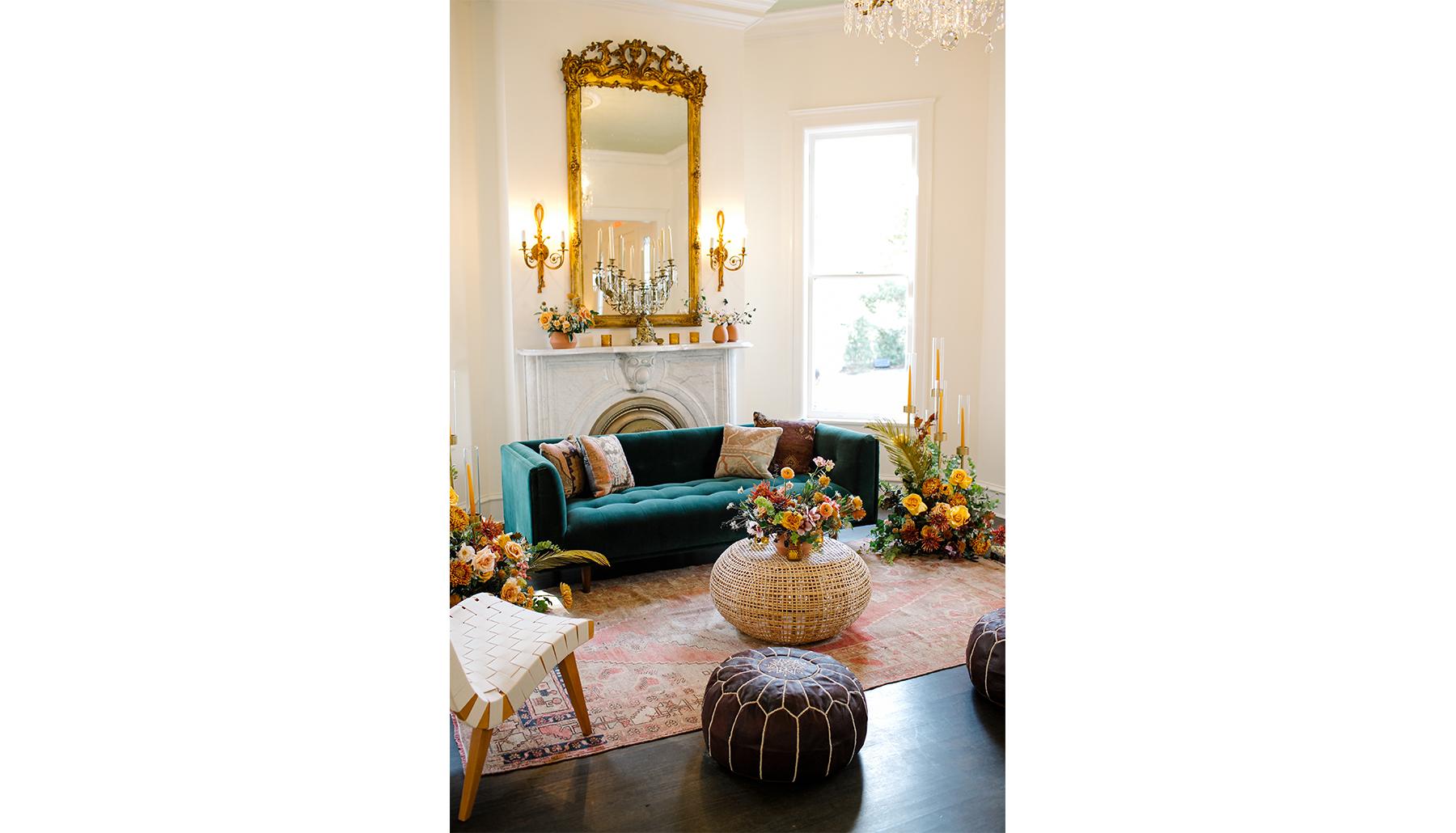 Woodbine Mansion Interior