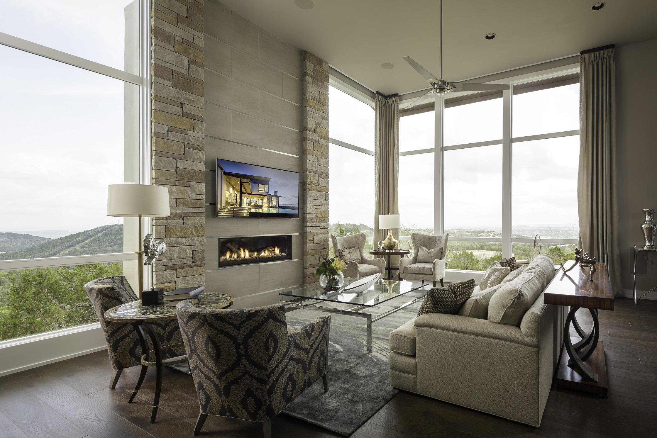 Duckhorn Residence - family room