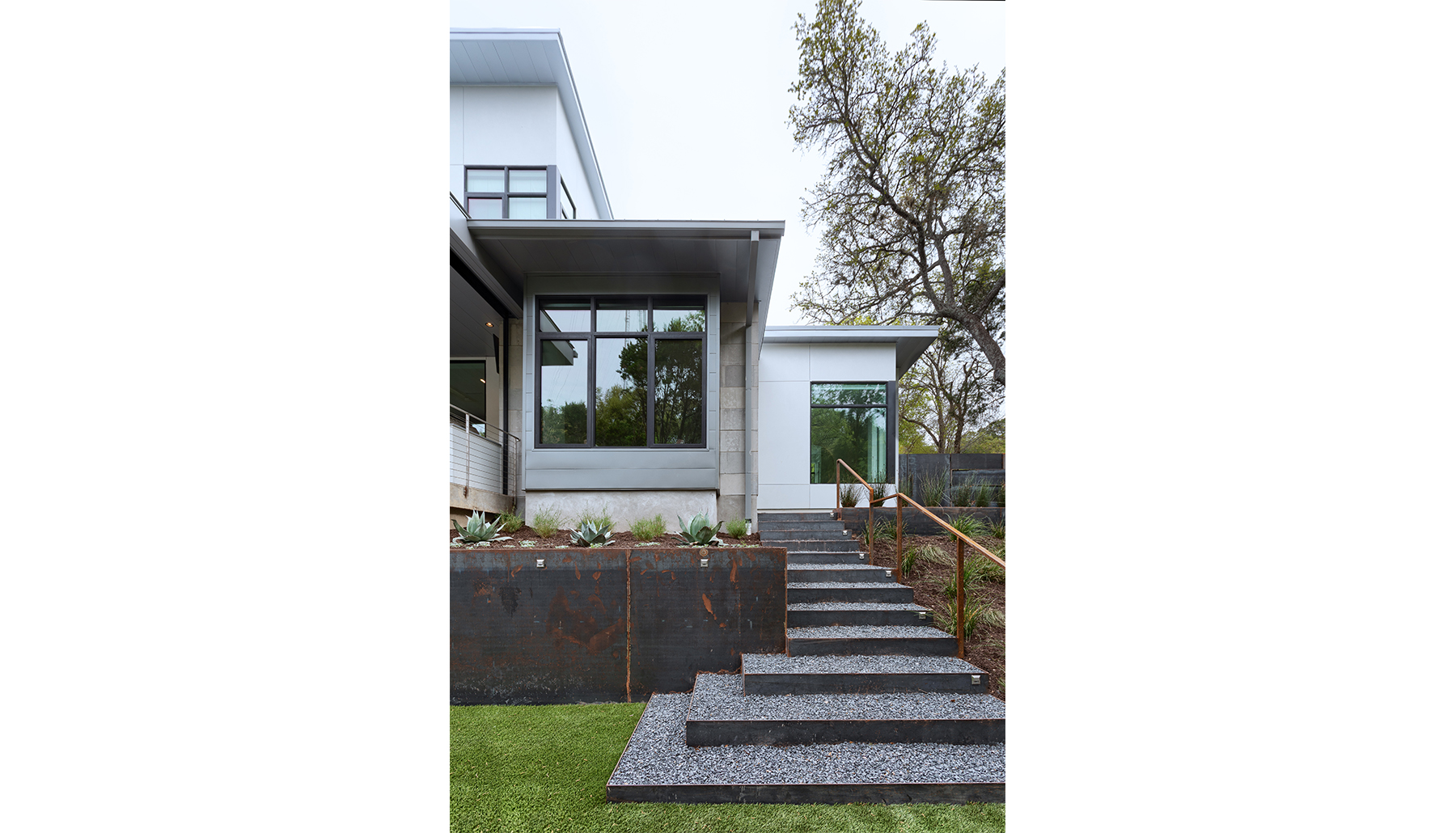 Madrones Exterior Stairs