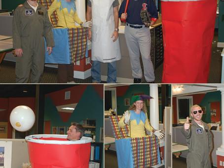 Cornerstone Employees Celebrate Halloween