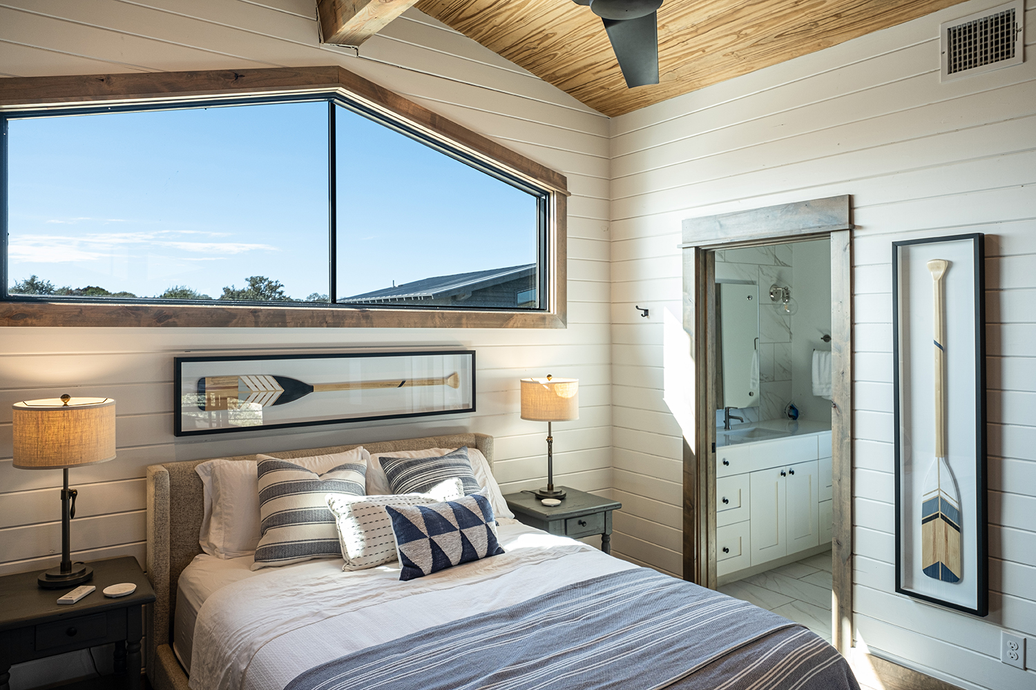 Treehouse Shiplap Bedroom