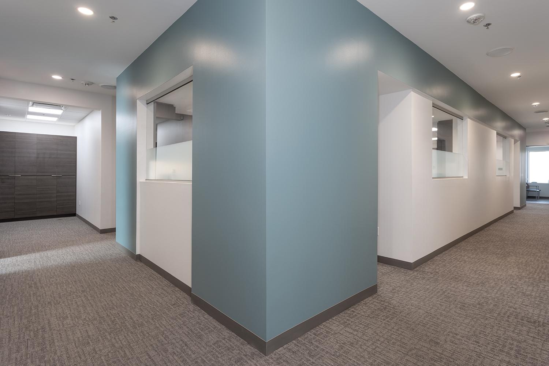 US Derm Hallway