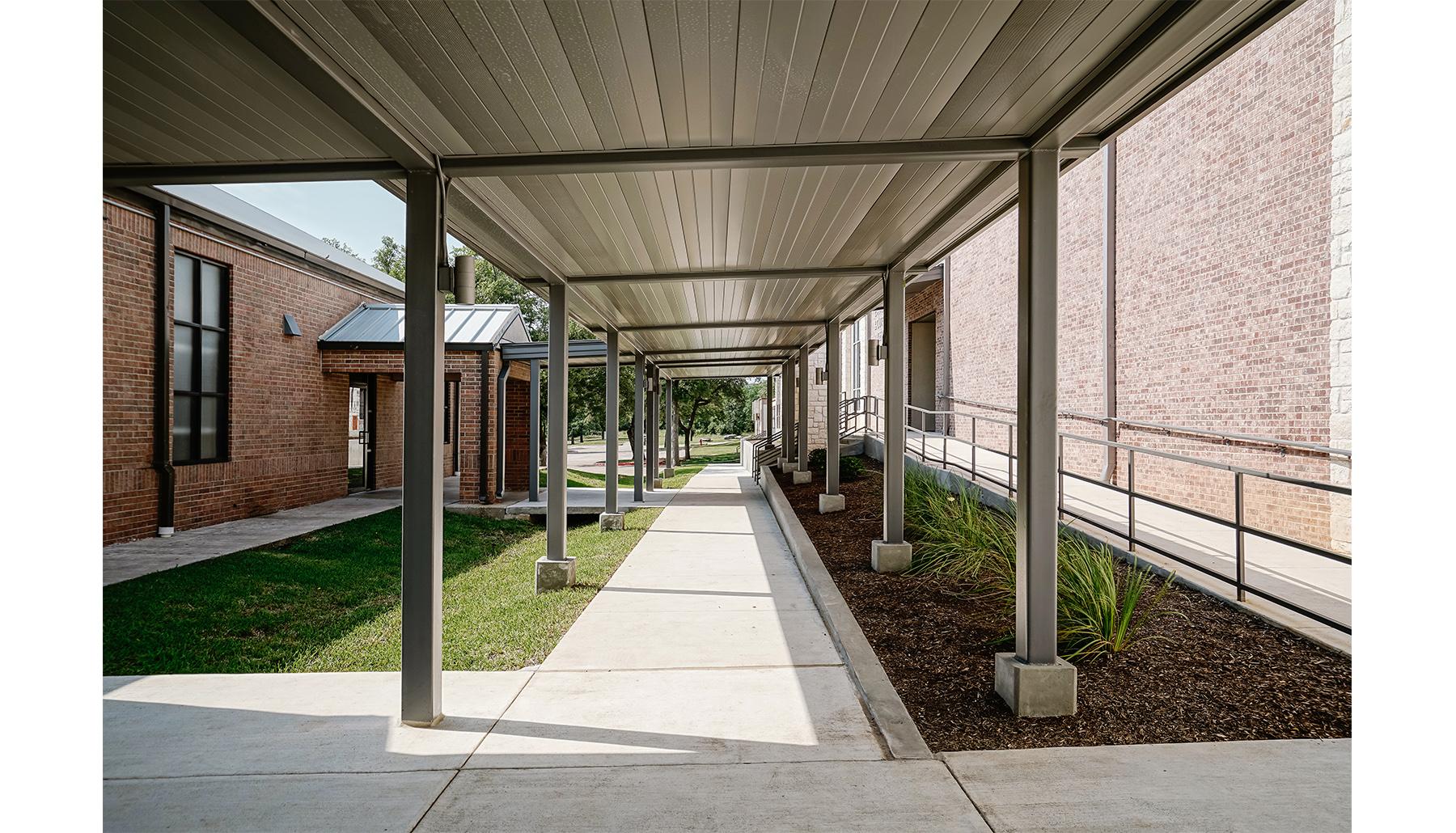 Westside Church Exterior Corridor