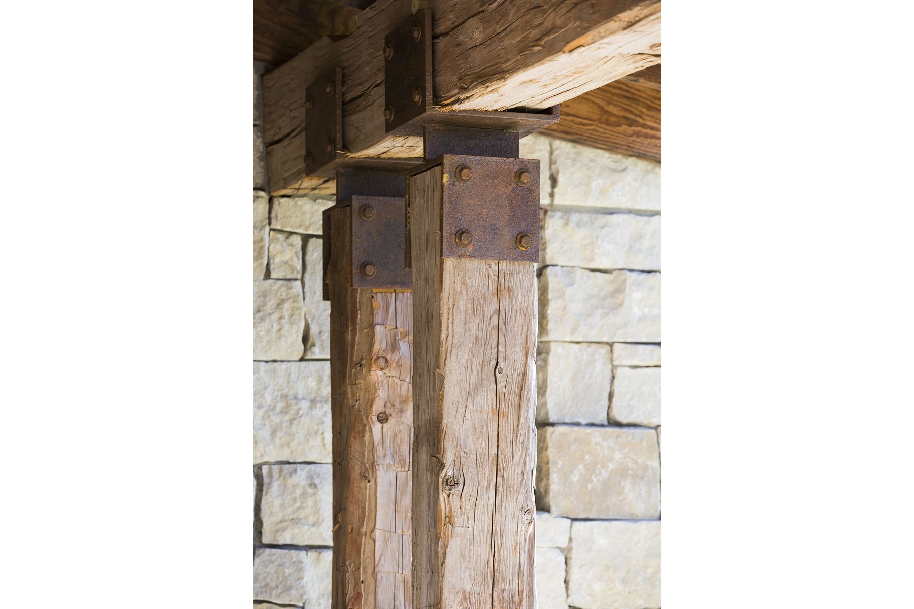 Llano Ranch Wood Detail