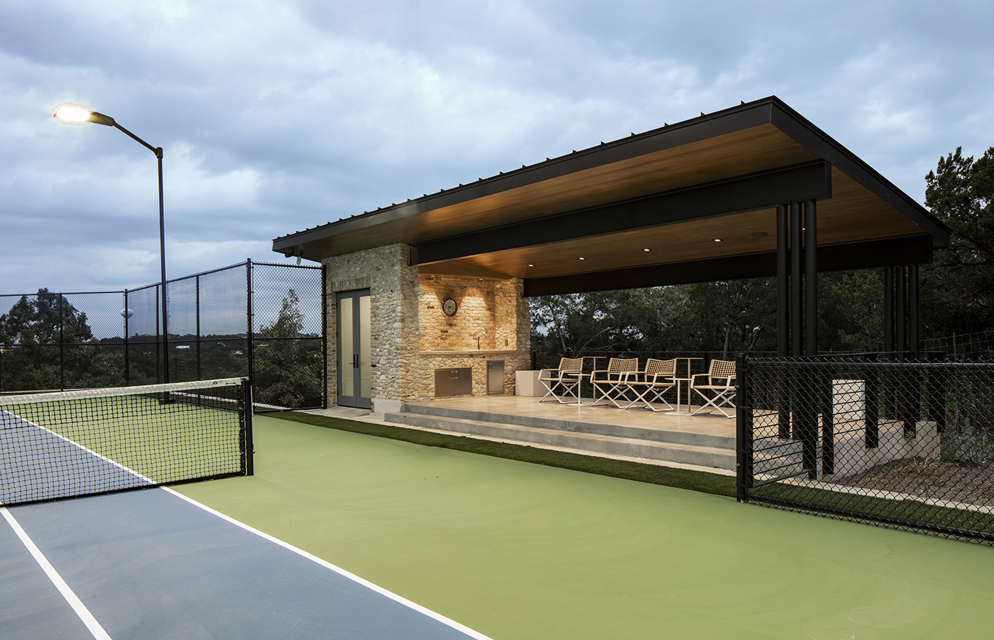 West Ridge Tennis Cabana