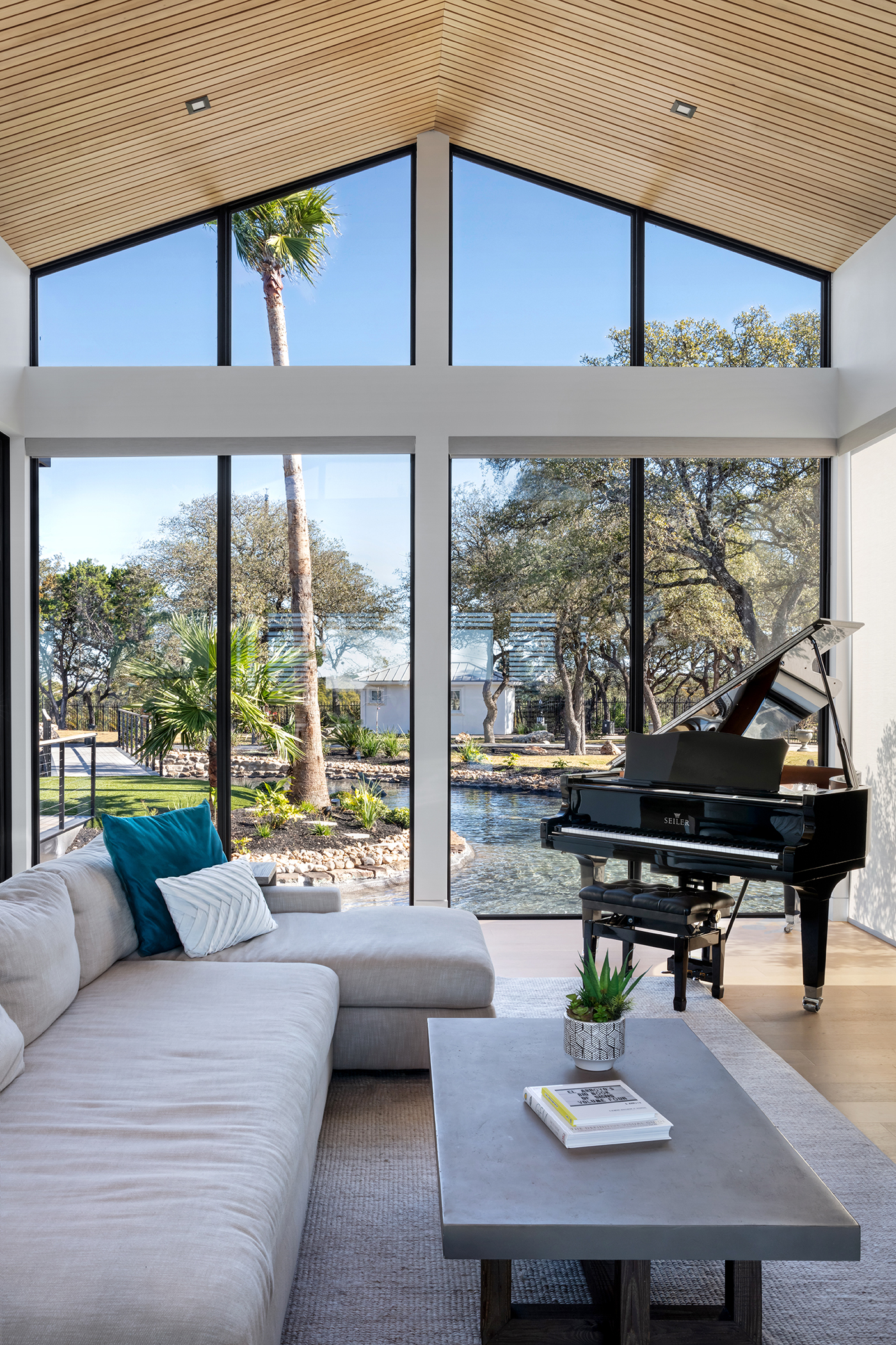 Two Coves Modern Living View