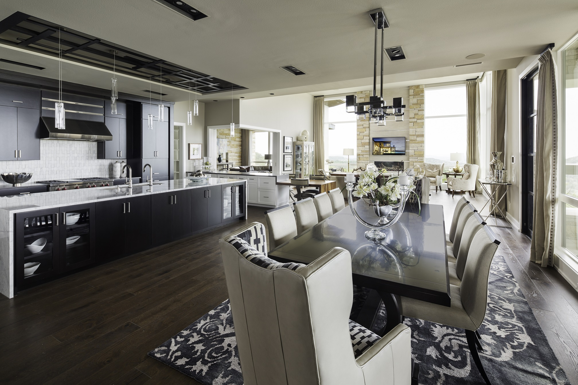 Duckhorn Residence - formal dining