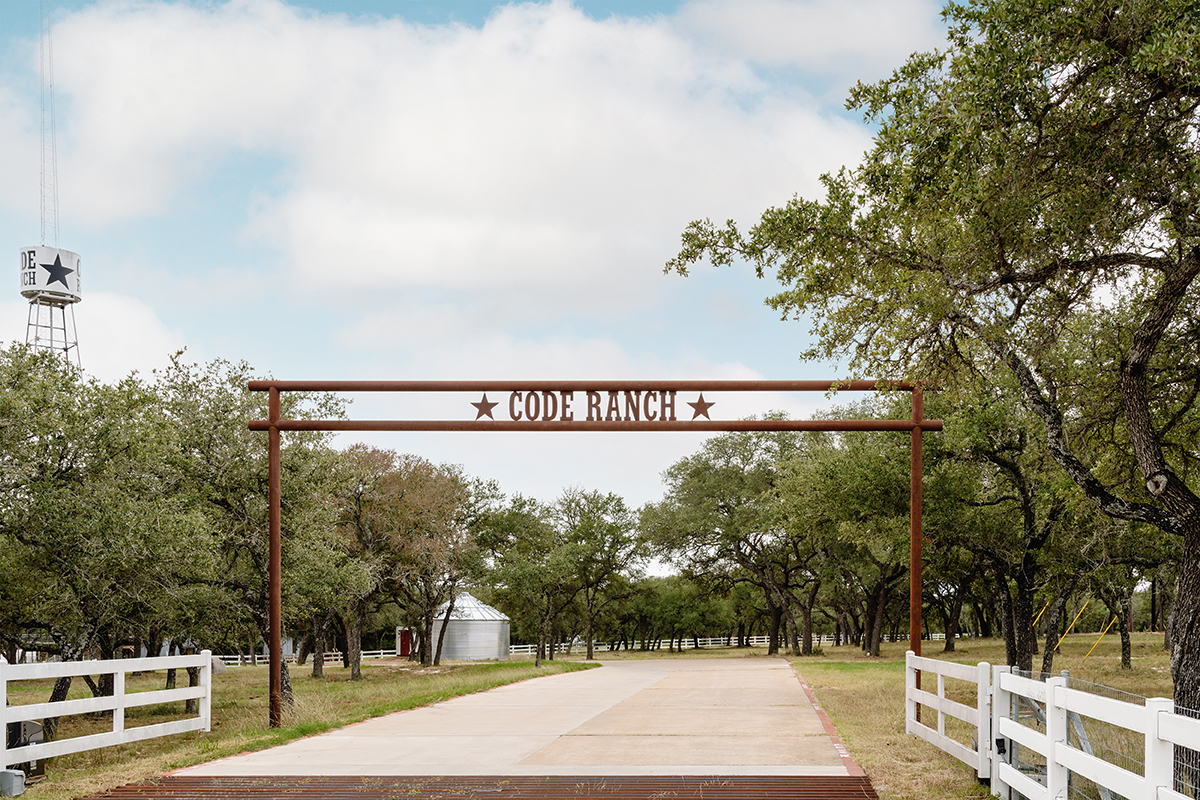 Code Ranch Entry Gate