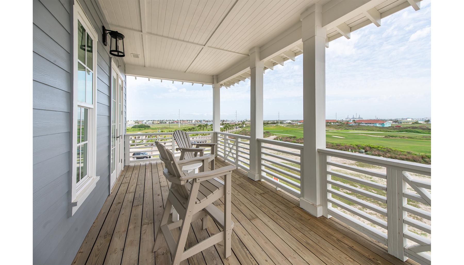 Palmilla Master Porch View