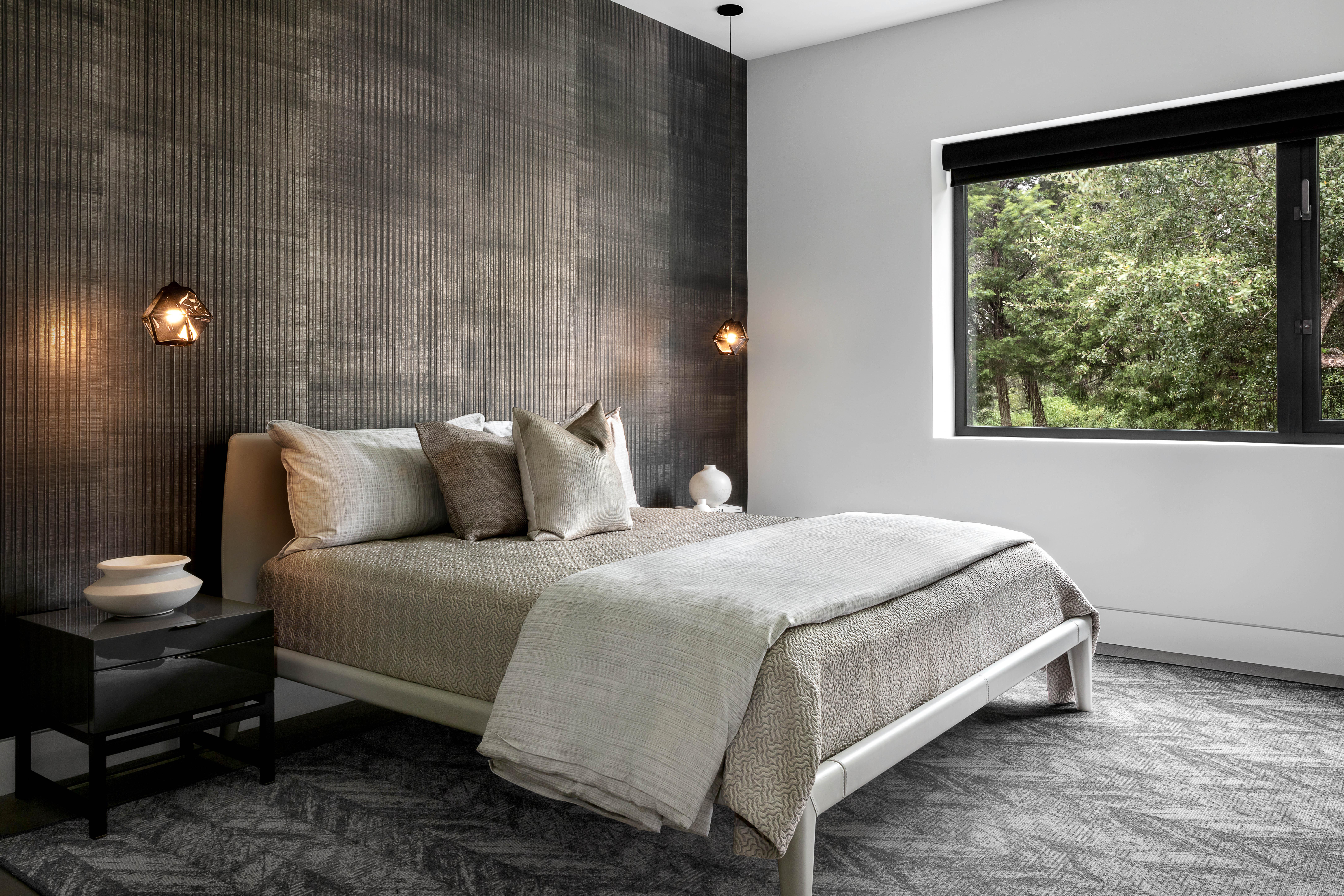 Blue Grass Guest Bedroom