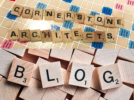 New and improved Cornerstone Architects Blog!
