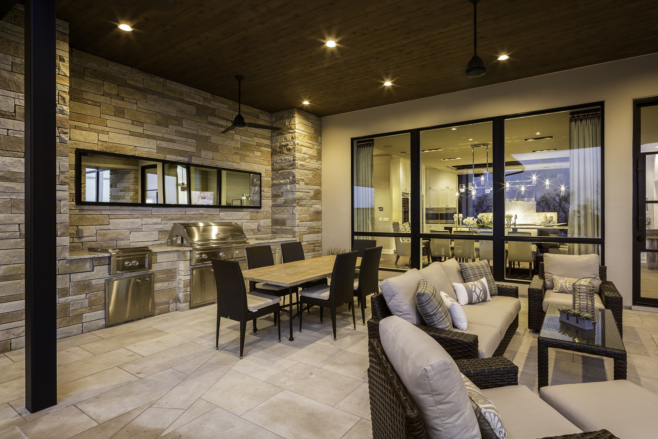 Duckhorn Residence - living and dining