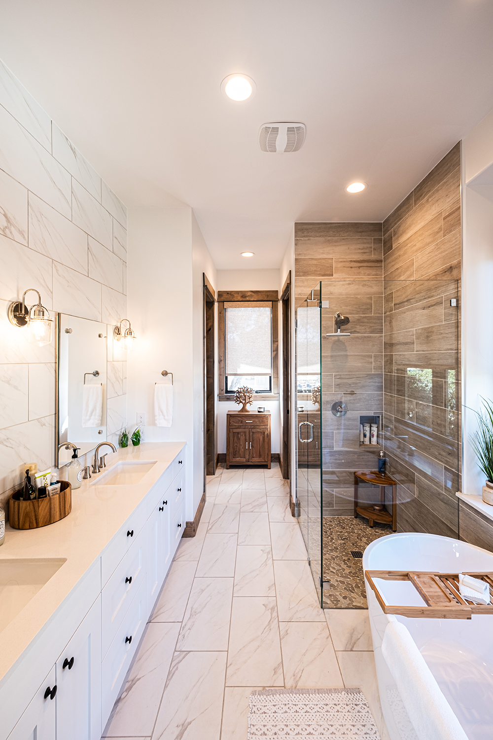 Treehouse Master Bathroom