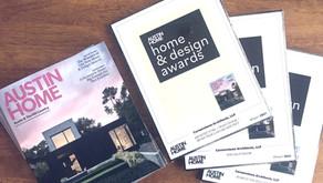 Cornerstone Architects Among the Inaugural Austin Home & Design Award Winners!