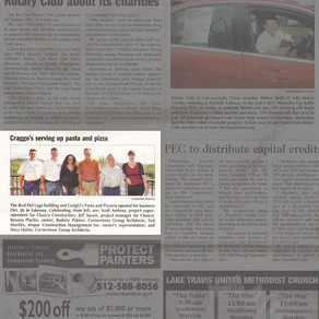 Lakeway project in the news