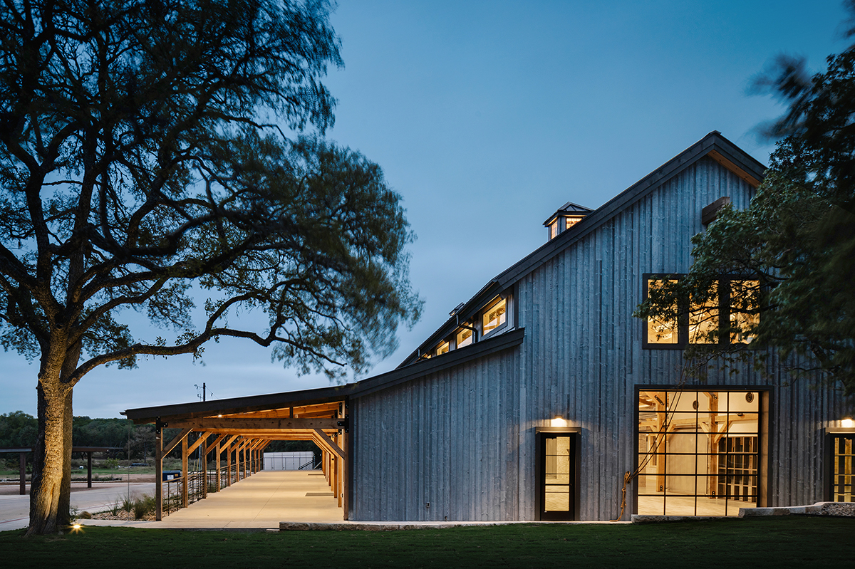 Code Ranch Twilight Side Exterior