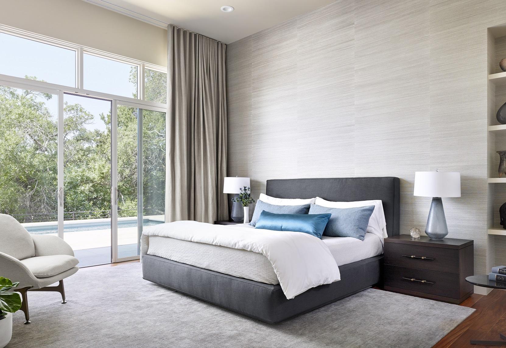 Rollingwood residence - master bedroom