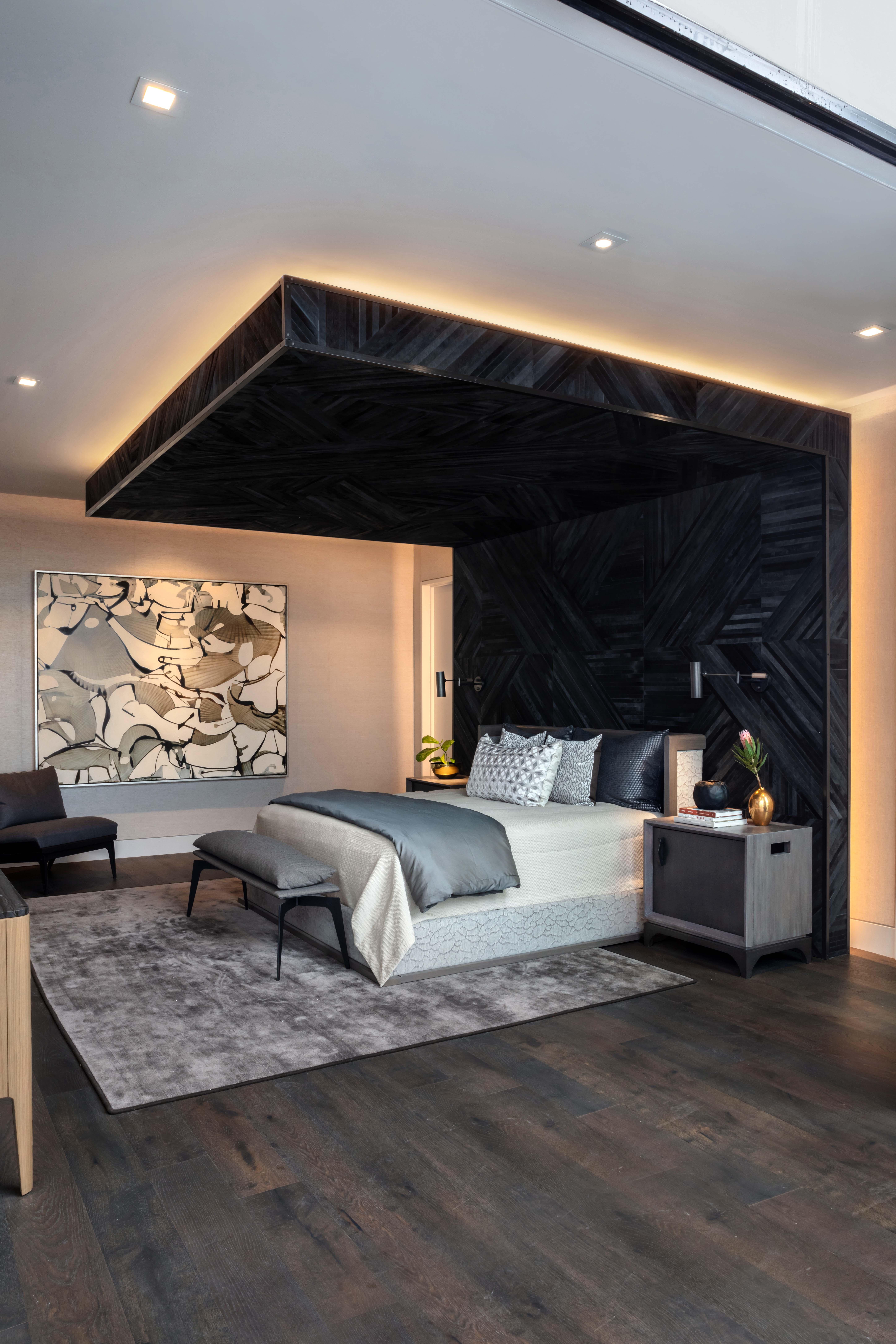 Blue Grass Master Bedroom