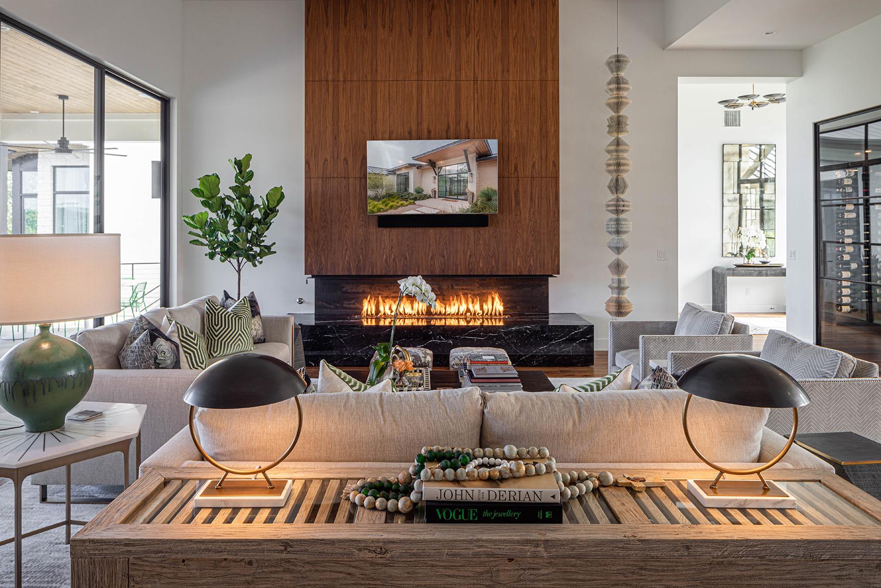 Portofino Ridge Fireplace