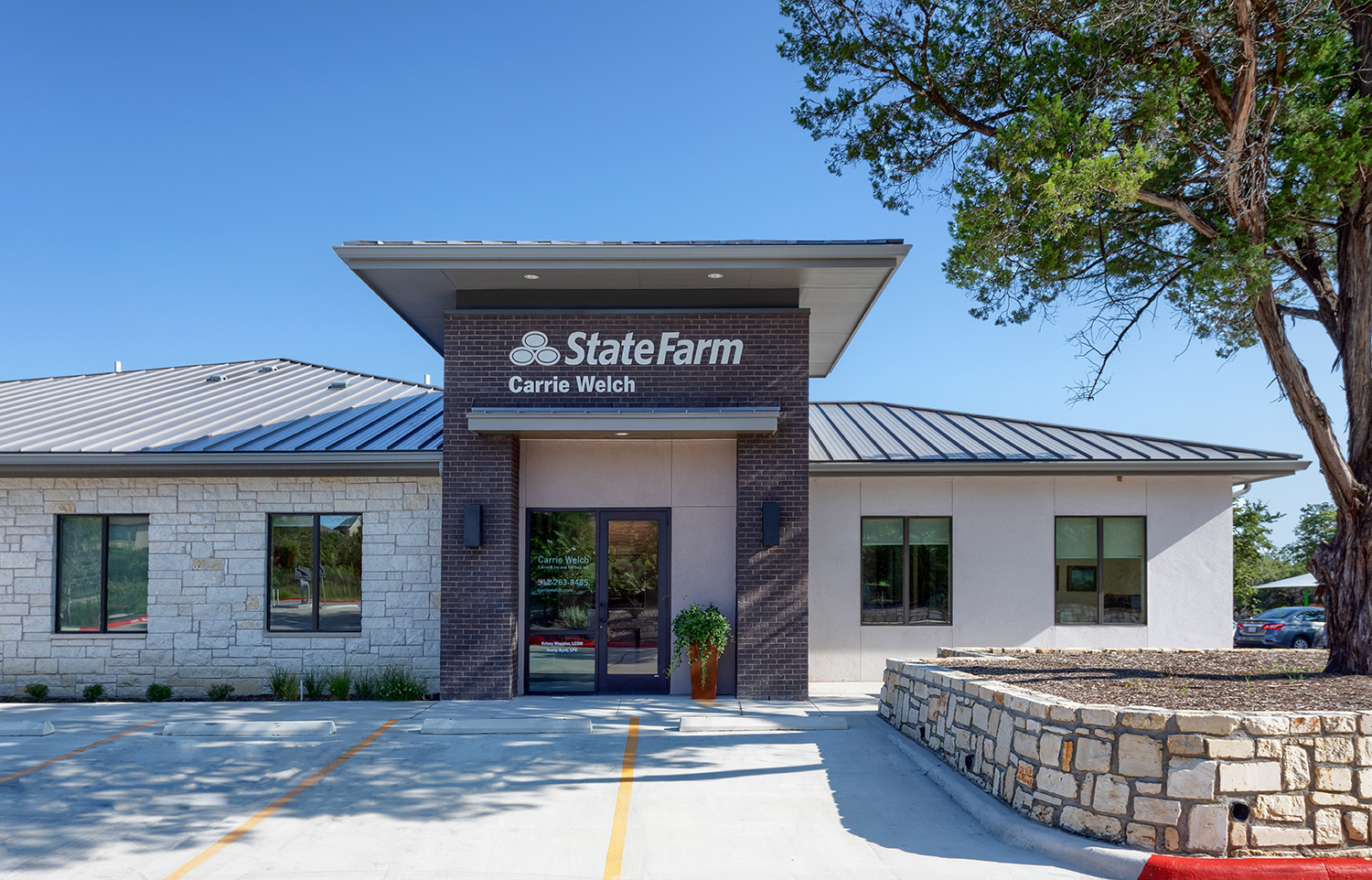 Bee Cave State Farm Exterior