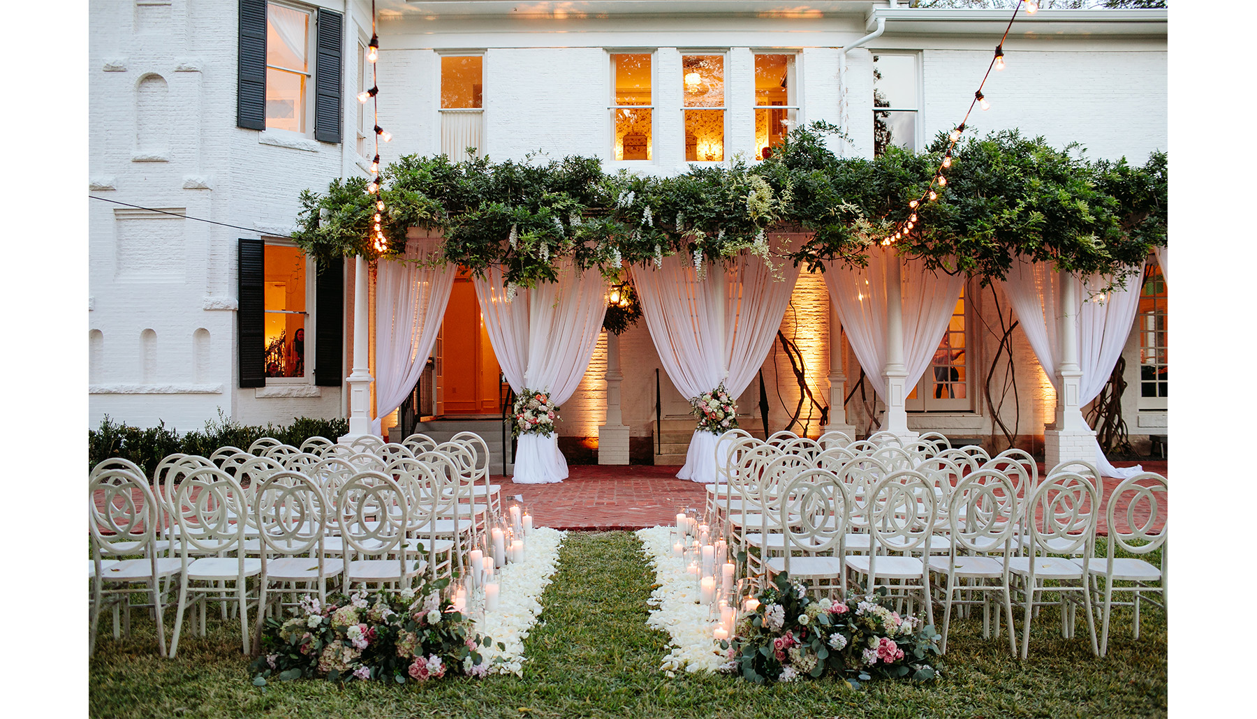 Woodbine Mansion Twilight Ceremony