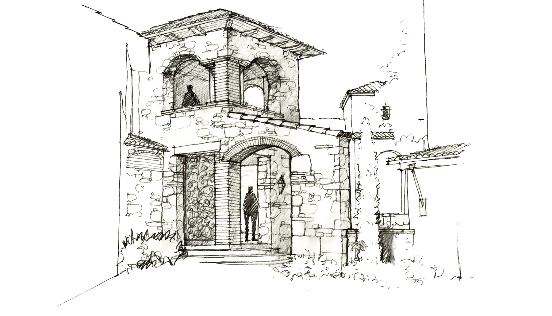 Entry Tower Sketch