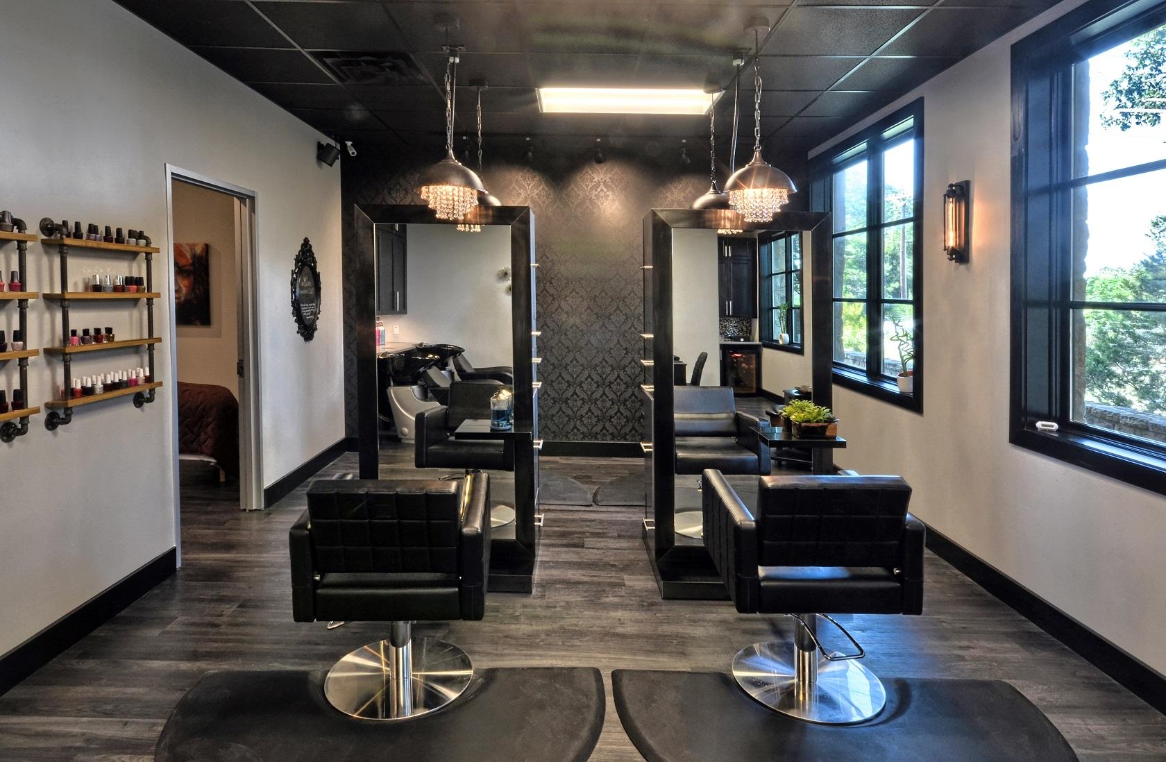 bombshell salon lakeway chairs